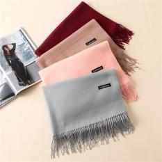 Khăn nữ thời trang, khăn giữ ấm, khăn quàng cổ Cashmere phong cách Hàn Quốc