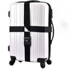 Dây đai vali chữ thập khóa số Holly đi du lịch