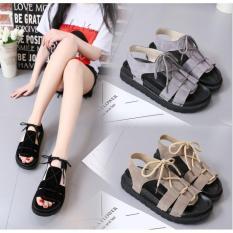 Dép sandal cột dây quai hậu kiểu dáng Hàn – Minh Châu shop kèm clip