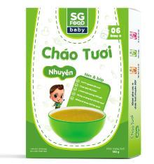 Cháo Tươi Nhuyễn Sài Gòn Food Tôm & Bắp 150g