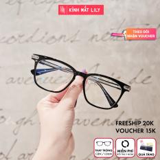 Gọng kính kim loại nữ mắt tròn Lilyeyewear K9020, nhẹ nhàng thanh mảnh, giúp người đeo thoải mái, phù hợp với nhiều khuôn mặt , gọng kính có nhiều màu, một size
