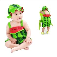 Bộ áo liền quần kèm mũ hình thú cho bé