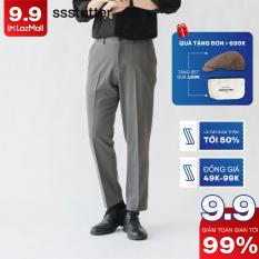 Quần âu vải Nam Regular Fit Basic SSSTUTTER Vải dệt thoi co giãn siêu nhẹ 5 màu Great Life Pants ver 2
