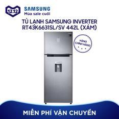 Tủ lạnh Digital Inverter Samsung RT43K6631SL/SV 442 lit (Xám)