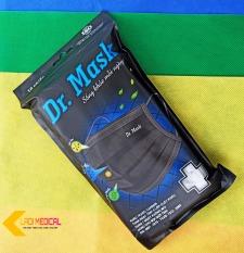 Khẩu trang y tế Dr Mask than hoạt tính kháng khuẩn 4 lớp bịch 10 cái