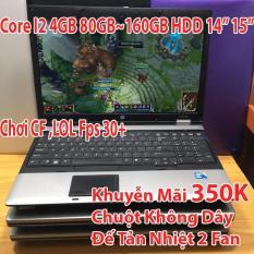 Laptop Giá Rẻ Sập Sàn i2 4GB Ổ 80Gb đến 320GB – Chơi CF,Youtube…Tặng Tản Nhiệt Or Chuột Không Dây