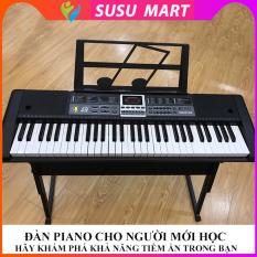 [ TẶNG GIÁ ĐỠ ĐÀN ] – Đàn Piano Điện Tử Cho Người Mới Học – Đàn Organ Electronic Keyboard Đàn 61 Phím 2cm
