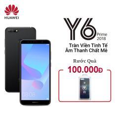 Huawei Y6 prime 16GB 2GB 5.7″ 1440x720P Snapdragon 425 CPU 13MP+8MP Camera Android 8.0 3000mAh
