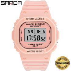 Đồng hồ Nữ thể thao SANDA DESA, Thương hiệu Cao Cấp Của Nhật, Chống Nước Tốt – Đồng hồ nữ thời trang, Đồng hồ nữ giá rẻ, Đồng hồ nữ đẹp, Đồng hồ nữ thể thao, Đẹp,Sang trọng,Đẳng cấp, Bền, Giá Sốc