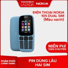 Điện thoại Nokia 105 Dual sim – Màu Xanh