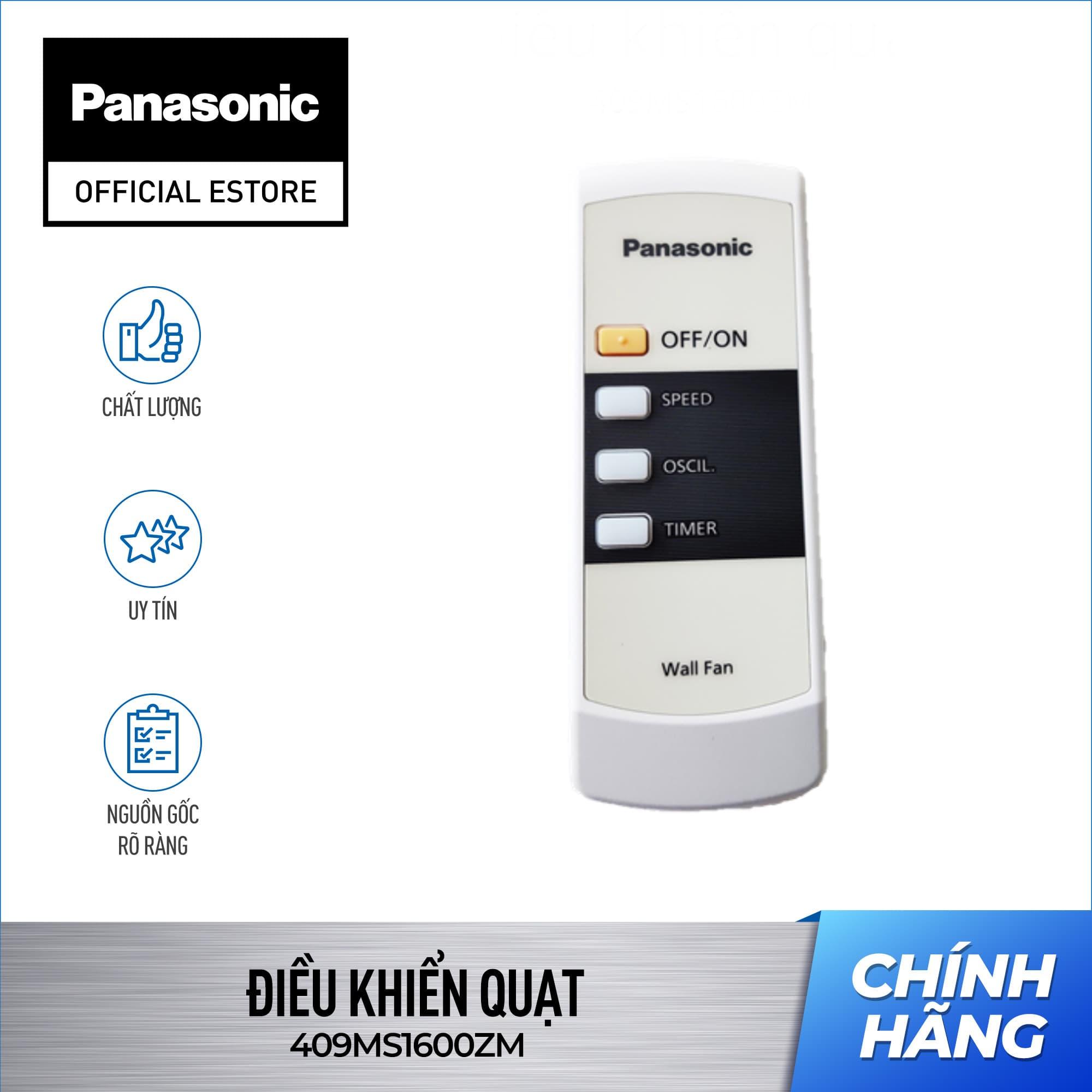 Điều khiển quạt của Quạt cây (treo) Panasonic F-409KH – Remote Quạt Panasonic F-409KH