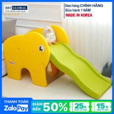Cầu trượt Hàn Quốc hình chú voi Coco HN717 – cầu trượt cho bé, đồ chơi trẻ em, cầu tượt, đồ chơi vận động
