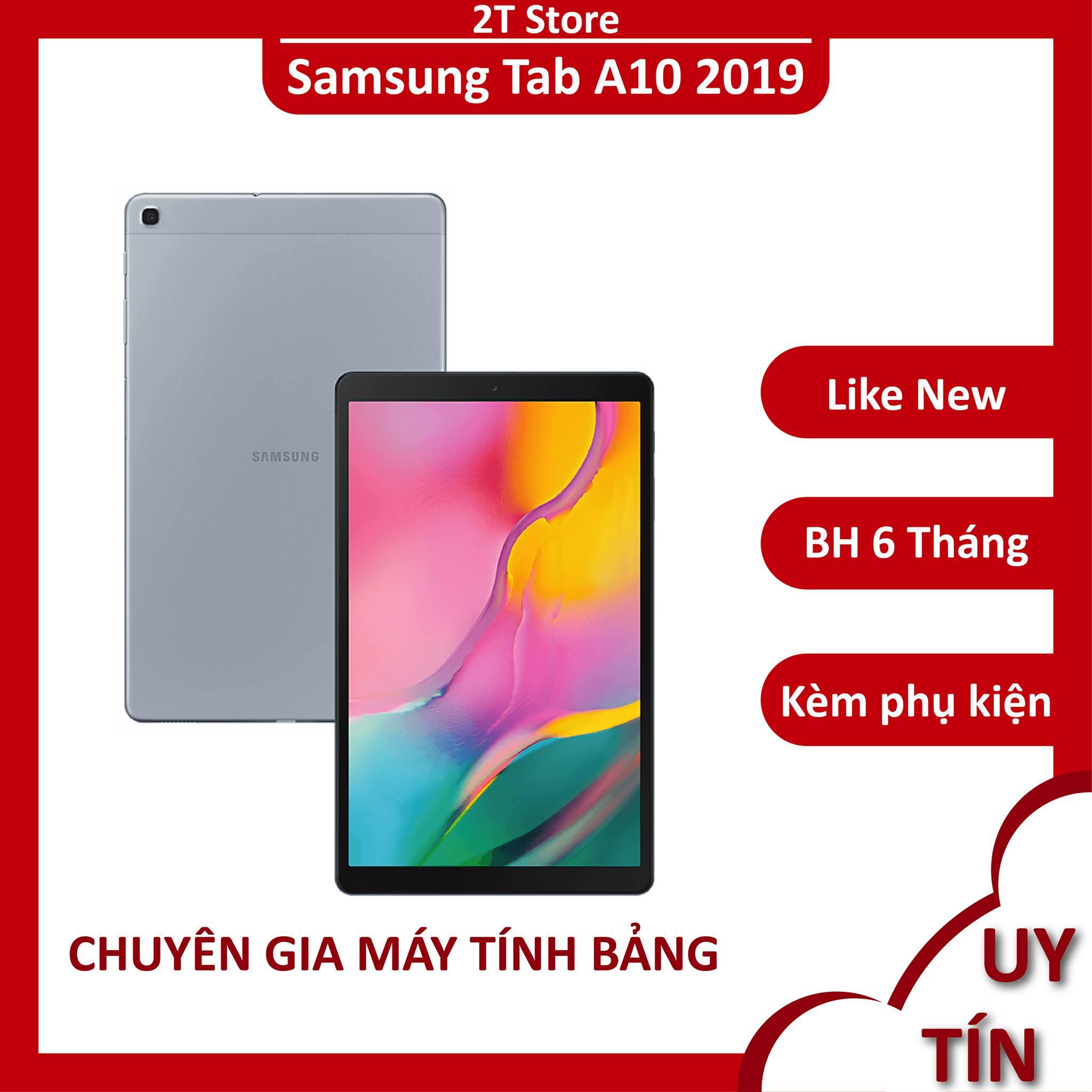 [Nhập ELJAN12 giảm 10%, tối đa 200k, đơn từ 99k]Máy tính bảng Samsung Tab A10 2019 Ram 3GB đẹp sang...