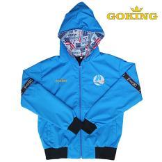 Áo khoác trẻ em GOKING, chất liệu dù mềm mại, chống nắng, đi mưa, cản gió tốt, giữ ấm hiệu quả