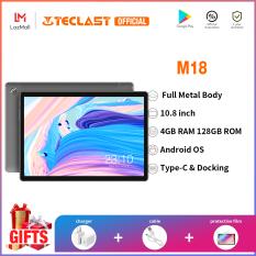 Máy tính bảng Teclast M16 màn hình IPS FHD 11,6 inch cCPU MTK Helio X27, iPad truy cập mạng 4G kép hệ điều hành Android 8.0 bộ nhớ RAM 4GB + ROM 128gb bàn phím có thể tháo rời – INTL