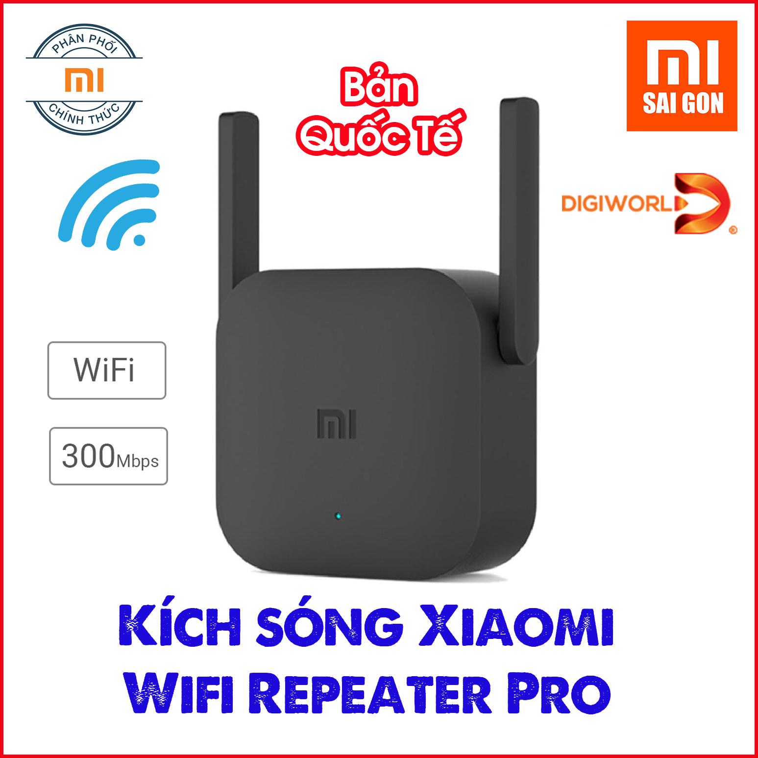 [BẢN QUỐC TẾ] Thiết bị kích sóng Xiaomi Wifi Repeater Pro – Chính hãng phân phối
