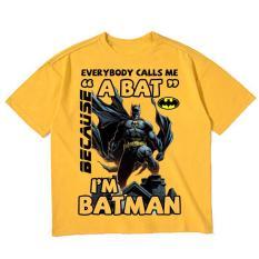 Áo thun bé trai vải dày mịn mát in hình Batman 3D được các bé trai yêu thích ATBT73
