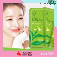 TUTA – Combo5 miếng Mặt nạ ngủ Matcha LAIKOU dưỡng ẩm, chống lão hóa và ngăn bã nhờn cho da kết hợp phục hồi da, lẻ 1 gói 3g MATNA-MATCHA