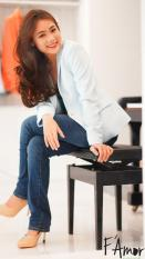 Áo vest thời trang cao cấp F'Amor ( xanh nhạt )