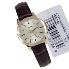 Đồng hồ nữ dây da Casio Anh Khuê LTP-V004GL-9AUDF