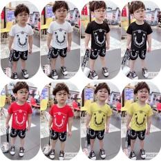 ❤️ XẢ KHO ❤️ bộ quần áo cho bé trai và bé gái mặc hè siêu thoáng mát – size từ 7-18 kg