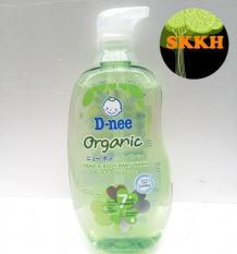 [CHO DA BÉ MỀM MẠI-KHÔNG CAY MẮT] Sữa tắm gội toàn thân trẻ em D-nee Organic Thái Lan 380ml Skkh