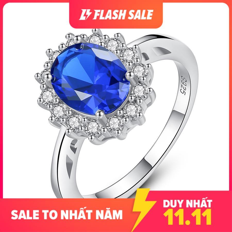 Nhẫn bạc nữ S925 đính đá cao cấp N-2415 Bảo Ngọc Jewelry