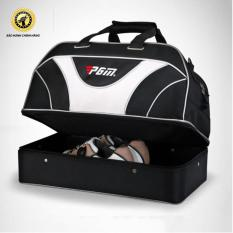 Túi đựng đồ GOLF có ngăn đựng giày riêng biệt PGM (Đen phối trắng)