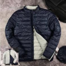 Áo Phao nam mặc được 2 mặt kết hợp / Áo Phao nam 2 trong 1 tiện lợi áo phao ấm mùa đông