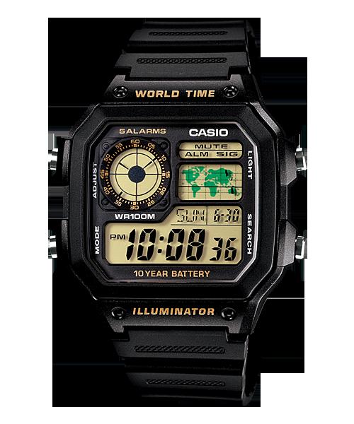 Đồng hồ Casio Nam AE-1200WH-1B chính hãng giá rẻ – Bảo hành 1 năm – Pin trọn đời