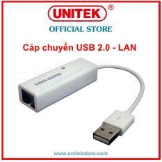 [UNITEK STORE] CÁP CHUYỂN USB 2.0 RA LAN KINGMASTER (KM005)
