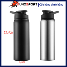 Chai đựng nước thể thao 700 ml chất liệu thép không gỉ, chất lượng đảm bảo an toàn đến sức khỏe người sử dụng, cam kết hàng đúng mô tả