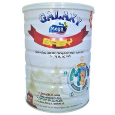 Sữa công thức cho trẻ sơ sinh 6 đến 36 tháng phát triển toàn diện Mega Nutrition Baby lon 900g