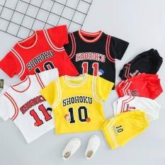 Bộ bóng rổ cộc tay Shohoku cho bé 8-18kg QATE576