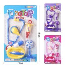 Vỉ đồ chơi bác sĩ có tai nghe mẫu mới cho bé thích học làm bác sĩ, y tá 169
