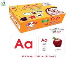 Flashcard – Thẻ học thông minh 18 chủ đề 288 thẻ loại lớn 12x16cm