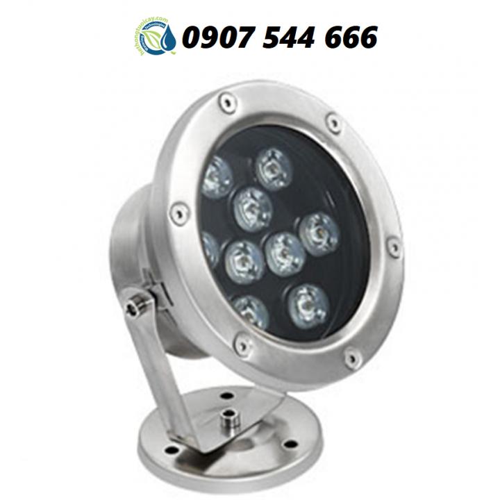Đèn LED âm nước có đế 9w đổi màu 24VAC