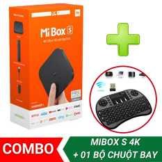 【FREESHIP XTRA】[COMBO MIBOX S 4K + 01 BỘ CHUỘT BAY] Android Tivi Box Xiaomi Mibox S 4K bản Quốc Tế (Android 9.0) CHÍNH HÃNG XIAOMI – Mistore Việt Nam