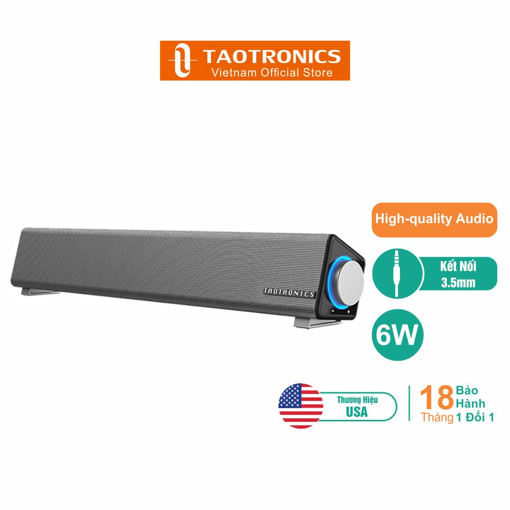 Loa Soundbar Mini TaoTronics TT-SK018 – Hàng Phân Phối Chính Hãng