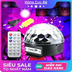 Đèn led Trang Trí vũ trường, kiêm LOA nghe nhạc – Trọn bộ gồm 1 đèn, 1 remote điều khiển, 1 usb đã có nhạc sẵn – Shop Hàng Cực Rẻ