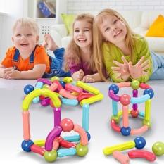 Bộ xếp hình nam châm thế hệ mới , đồ chơi phát triển trí tuệ cho các bé