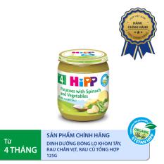 [FREESHIP] Dinh dưỡng đóng lọ rau chân vịt khoai tây 125g