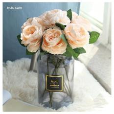 Hoa mẫu đơn trang trí – hoa giả nhân tạo