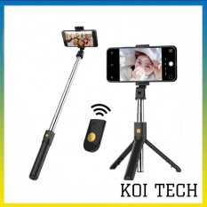 Gậy chụp hình kiêm chân Tripod K07 , kèm tay điểu khiển Remote Bluetooth 3.0