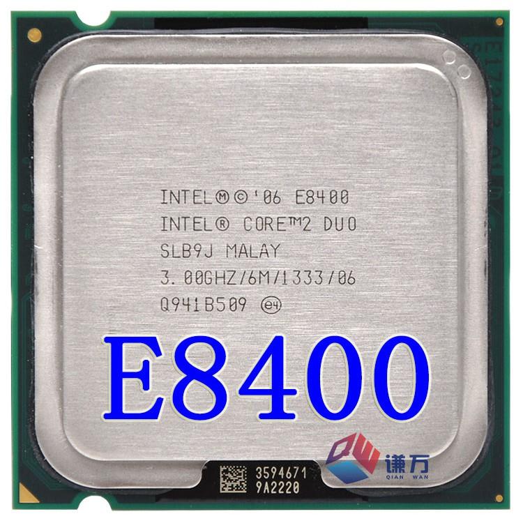 Cpu cho máy tính intel E8400 bóc main - E8400