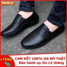 [MIỄN SHIP] Giày da bò thật MENLI GLLZ85 siêu mềm (Tặng đón gót siêu bền)