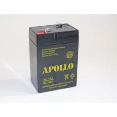 Bình ắc quy khô APOLLO 6V 4AH – NP 4-6