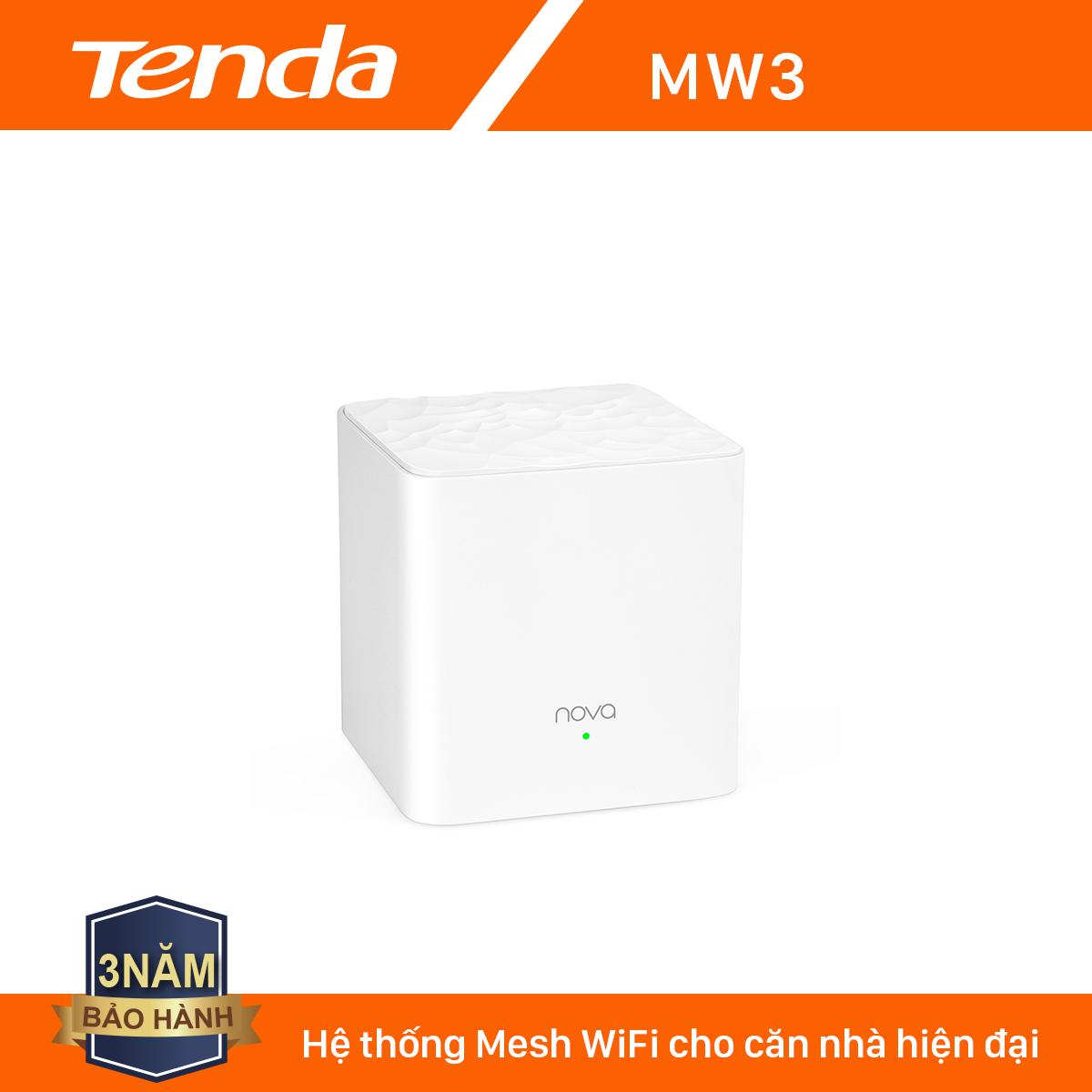 Tenda Hệ thống Wifi Nova Mesh cho gia đình MW3 Chuẩn AC 1200Mbps – Hãng phân phối chính thức