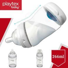 Bình sữa Playtex VentAire cổ cong chống sặc 266ml (9oz) không chứa BPA – Xách tay Mỹ