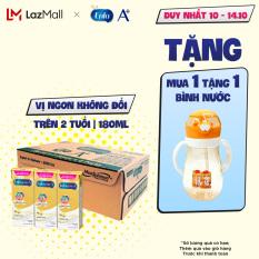 [ FREESHIP TOÀN QUỐC TỪ 1 LON ] Thùng 24 hộp sữa nước Enfagrow A+ 4 vị Vani 180ml cho trẻ trên 2 tuổi (8 lốc)
